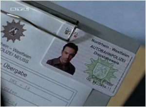 Карта за идентичност на Крис Ритер