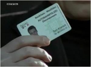 Карта за идентичност на Том Краних