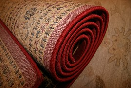 folded carpet
