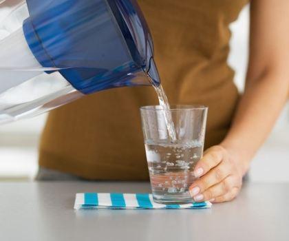 softened water