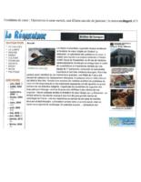 Mission Octobre 2010 – Renovateur- Une Fille sauveé