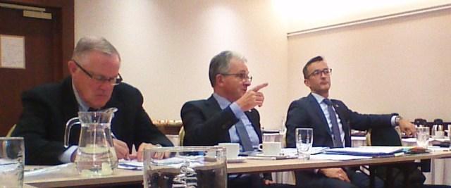 Presidentes da AFCEA Internqcional, AFCEA Eutope e AFCEA Eslováquia