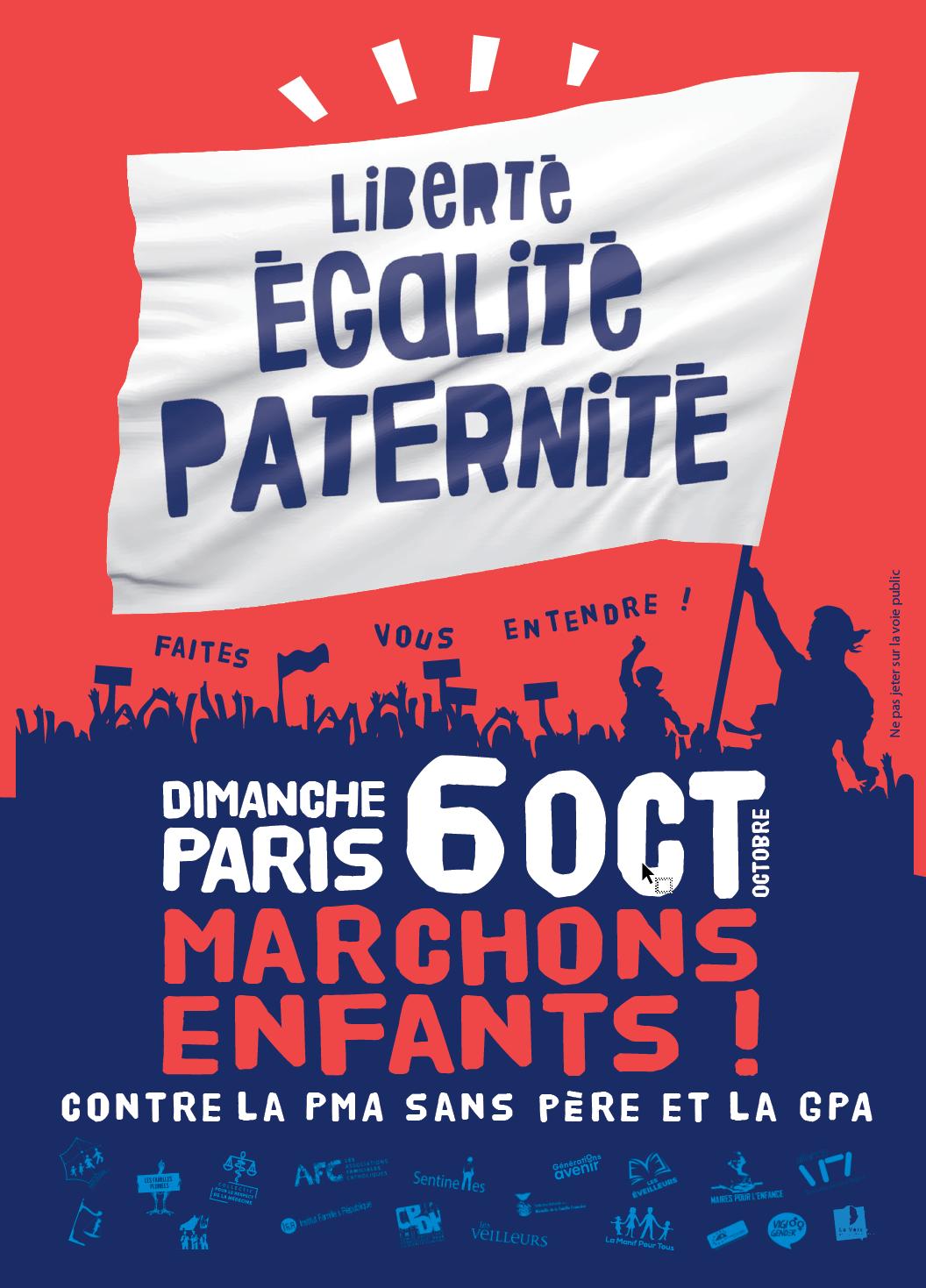 Marchons Enfants ! le 6 octobre