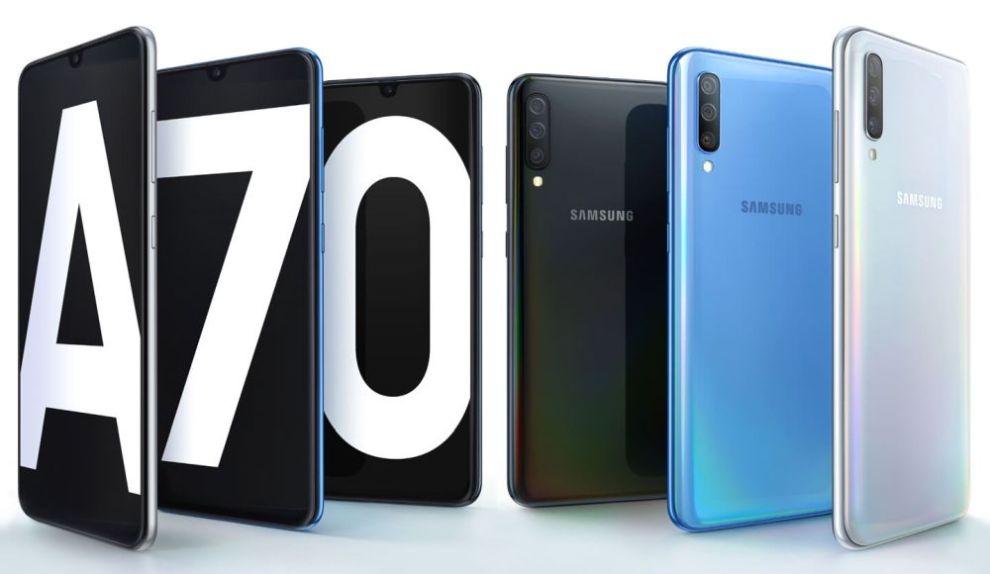 Galaxy A70_home