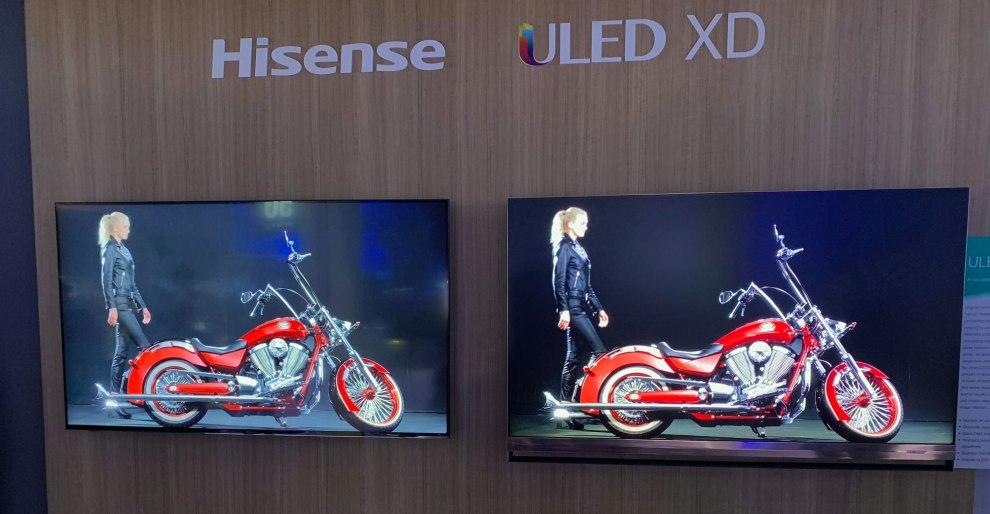 Hisense abbandona gli OLED per concentrarsi sui suoi TV ULED XD?