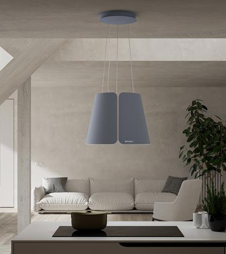 Cappa a lampadario Beat di Faber