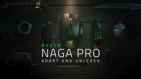 Mouse Razer Naga Pro – Tre in uno