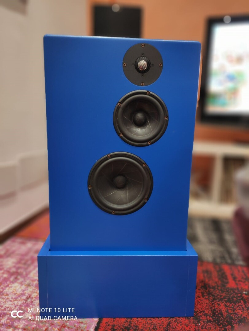 """Lo """"Stonato"""": diffusore Hi-End DIY"""