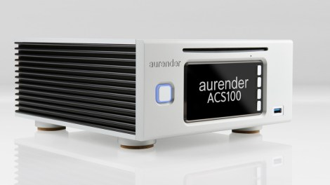 Aurender ACS100: server audio, CD ripper… e anche streamer