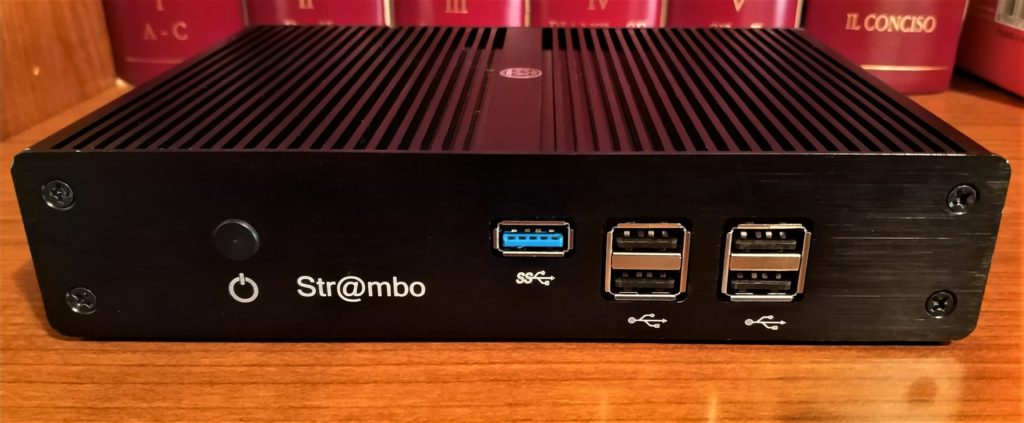Str@mbo: il mini-PC streamer orgogliosamente italiano