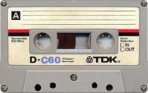Audiocassetta TDK