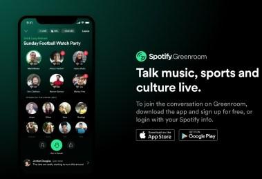 Nasce Greenroom by Spotify...farà la stessa fine di Clubhouse?