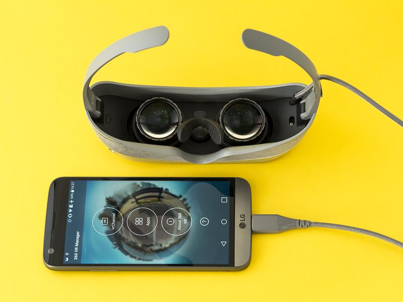 Realtà virtuale LG 360VR design