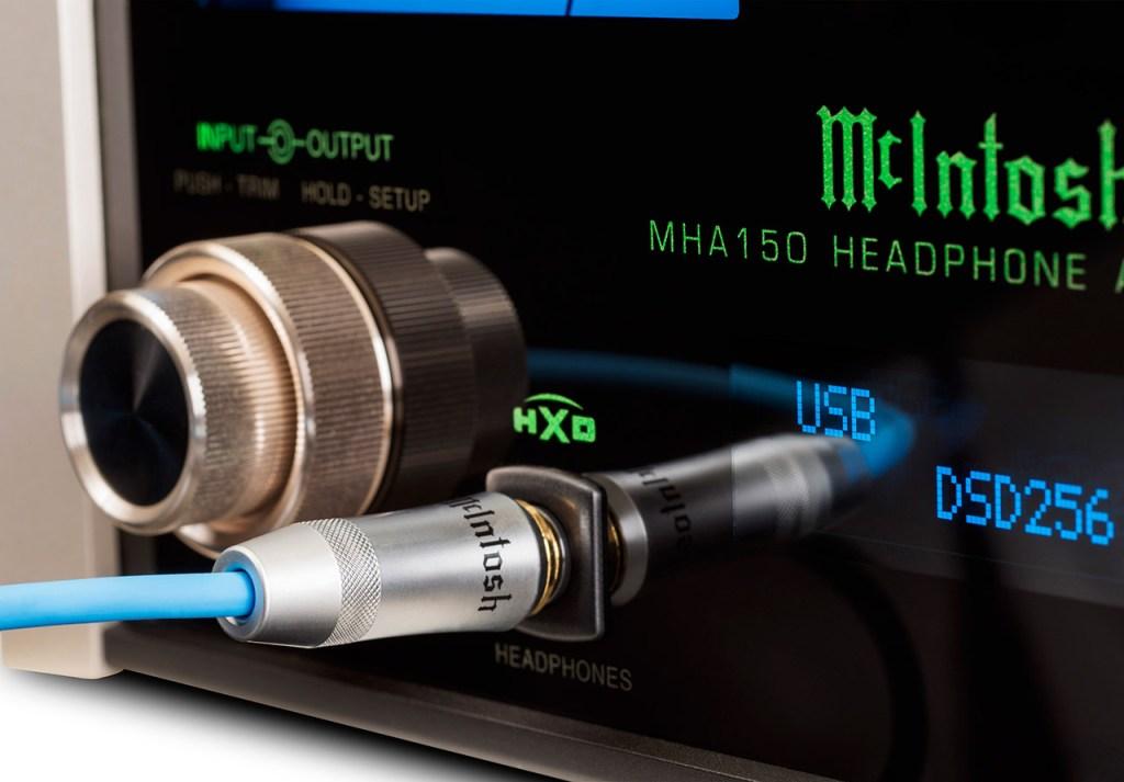 mcintosh mha150 headphone jack
