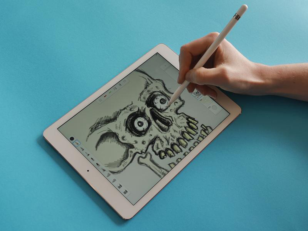 gadget hi-tech ipad_pro_drawing_2