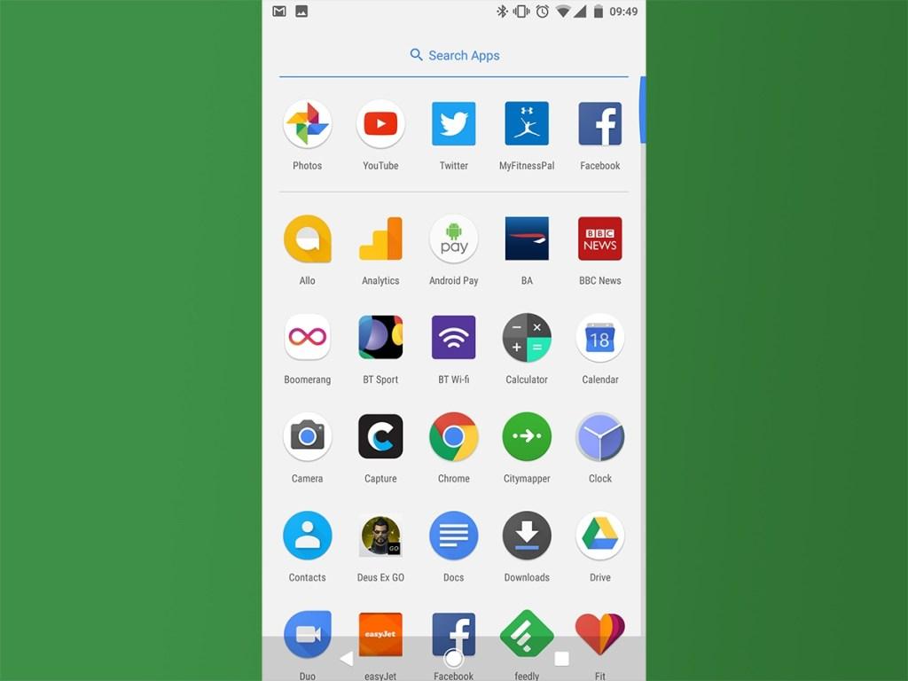google pixel xl screenshot 2