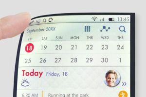 JPI mostra Full Active Flex, il primo schermo LCD flessibile