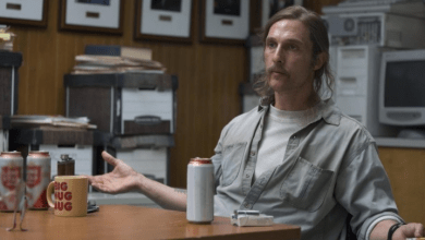 Photo de Matthew McConaughey et Nic Pizzolatto réunis sur FX