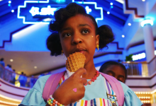 Photo of Priah Ferguson régulière en saison 4 de Stranger Things