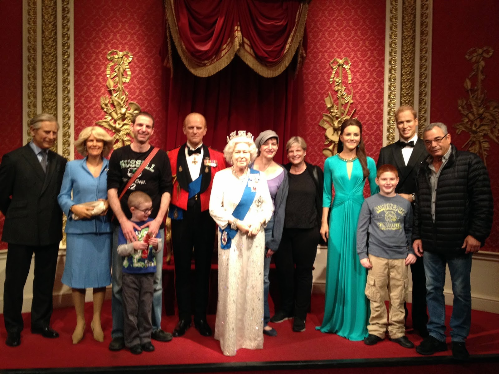 "Madame Tussauds  – Our last ""must"""