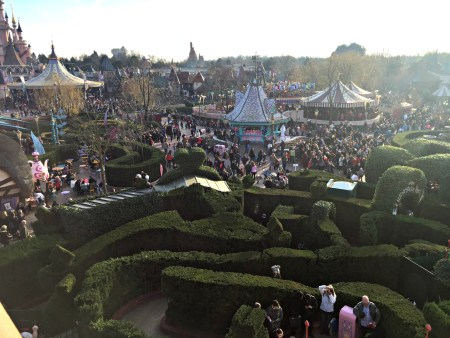 Disneyland from above