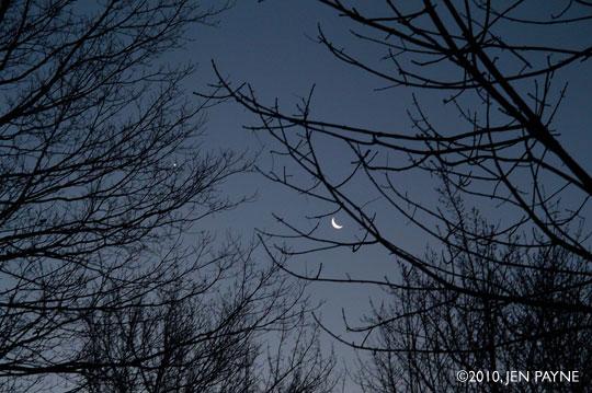 Moon + Saturn