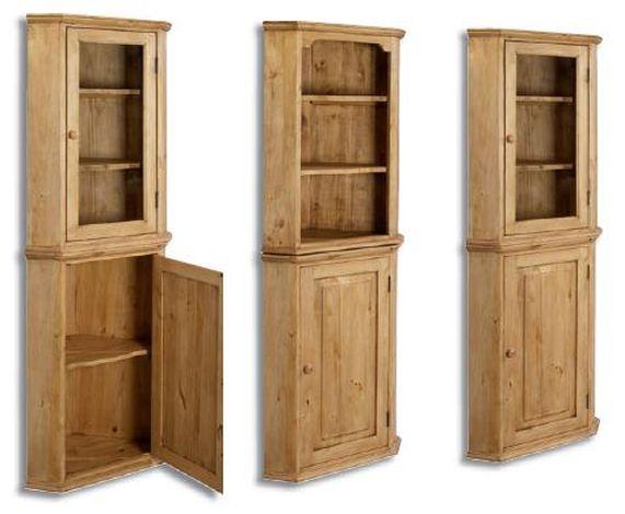 meubles en pin massif finition brut ou