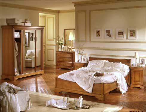 la chambre en merisier nathalie de