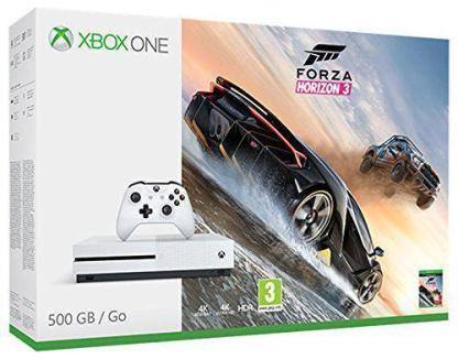 CONSOLE-MICROSOFT-XBOX-ONE-S-500GB-FORZA-HORIZON-3-ZQ9-00116-0