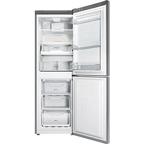 Indesit-LI70-FF1-X-Libera-installazione-270L-A-Acciaio-inossidabile-frigorifero-con-congelatore-0-0