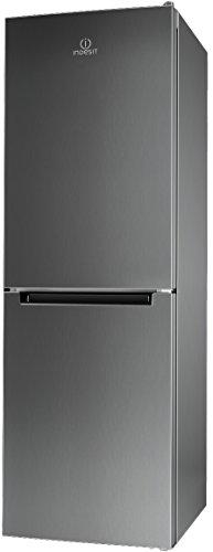 Indesit-LI70-FF1-X-Libera-installazione-270L-A-Acciaio-inossidabile-frigorifero-con-congelatore-0