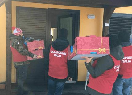 CasaPound torna ad Amatrice: Capodanno fra i terremotati e i dimenticati