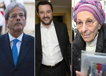 Elezioni 2018, ok Salvini, Bonino e Gentiloni. Stelle sfavorevoli per Tajani