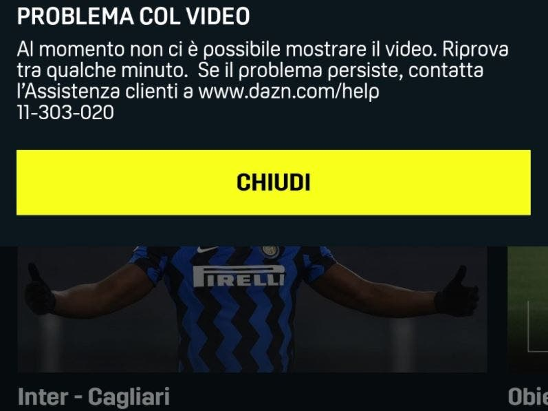 Dazn Free Month How To Get Reimbursement For Inter Cagliari Time News Time News