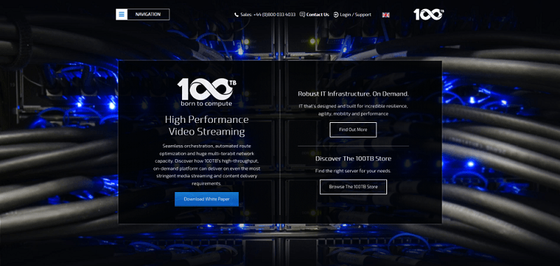 100TB High Performance Video Streaming- coupon codes