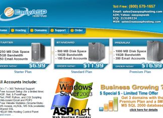 Easy ASP Hosting Coupon Codes