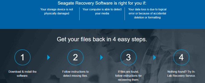 seagate file recovery steps