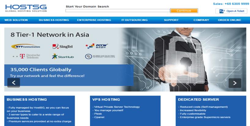 HostSG- BestWeb Hosting Service Providers In Singapore