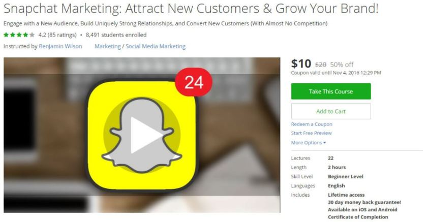 Snapchat Marketing Attract New Customers Grow Your Brand