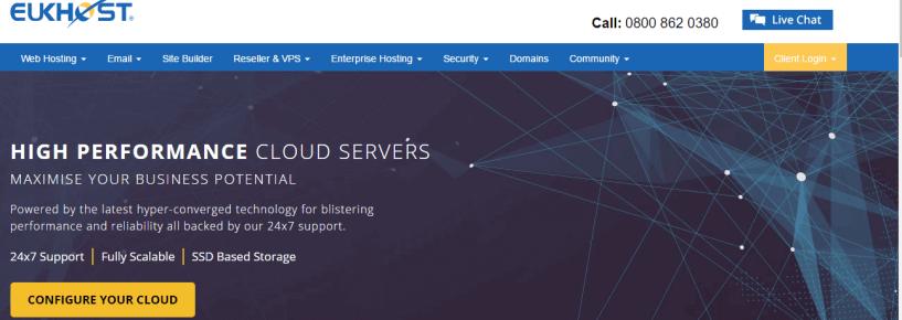 EUKhost -BestWeb Hosting Providers In UK