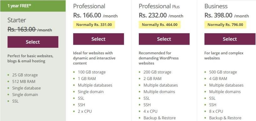 one.com pricing