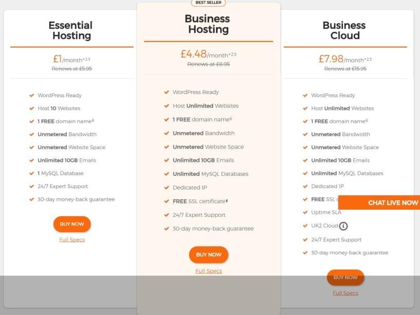 uk2 hosting- BestWeb Hosting Providers In UK