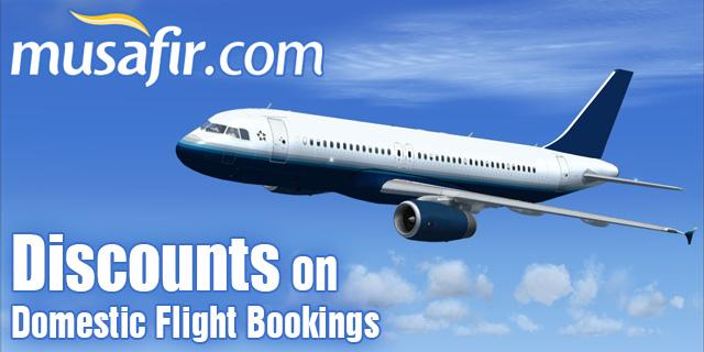 Musafir Coupons September 2018 -Get 15% Off on Flights- 100% Real Deal