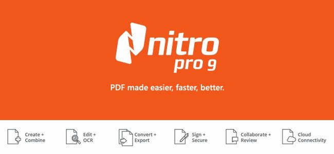 Nitro PDF Coupon Codes for September 2018– Get 20% Off