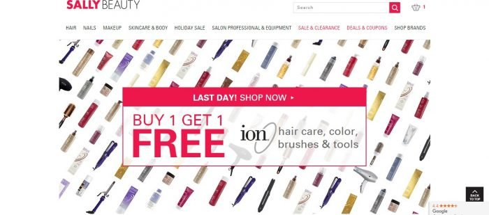 {Latest} Sally Beauty coupon codes September 2018– Get 50% Off