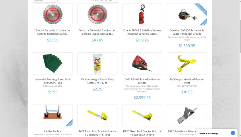 Big Rock Supply equipments and machines