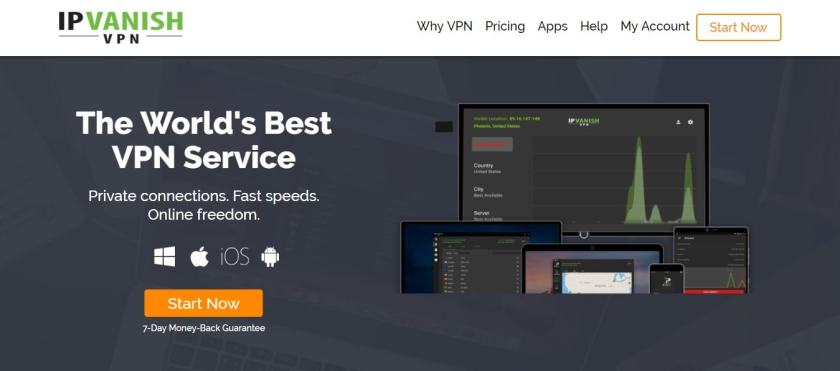 IPVanish VPN For Netflix streaming