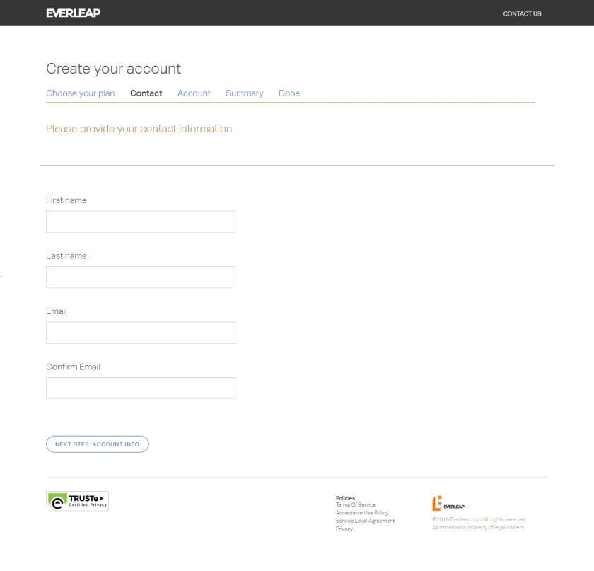 form for everleap coupon code