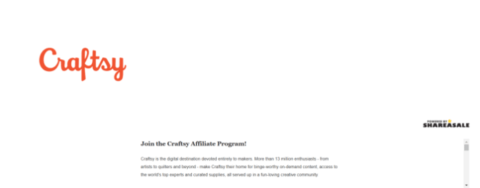 Craftsy-Art-Affiliate-Programs 2020
