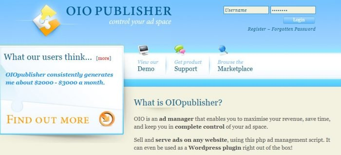 WHAT IS OIO PUBLISHER